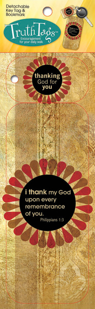 Thanking God For You, Truth Tag   -