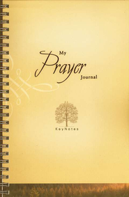 My Prayer Journal: KeyNotes   -     By: Ellen Caughey