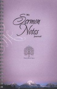 KeyNotes: My Sermon Notes Journal  -     By: Ellen Caughey
