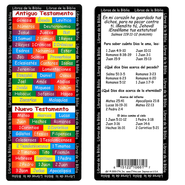 Books of the Bible Jumbo Bookmark, Spanish  -