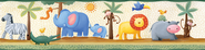 Jungle, Vinyl Wall Stickers Border  -