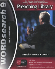 WORDsearch 9 PC/Mac Preaching Library on DVD-ROM   -