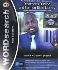 WORDsearch 9 Preacher's Outline and Sermon Bible Library, New Testament on CD-ROM  -