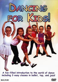 Dancing For Kids! DVD  -