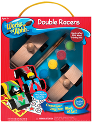 Double Racers Wood Painting Kit  -