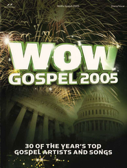 WOW Gospel 2005 Songbook   -