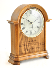 Personalized, Father's Day Mantle Clock   -