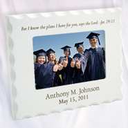 Personalized, For I Know the Plans, Photo Frame  -