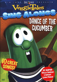 VeggieTales Sing-Alongs: Dance of the Cucumber on DVD   -