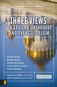 Three Views on Eastern Orthodoxy and Evangelicalism - eBook  -     By: Stanley N. Gundry, James Stamoolis