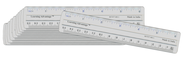 6In. Flexible Ruler (set of 12)  -