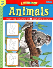 Draw and Color: Animals   -