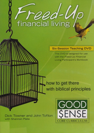 Freed-Up Financial Living DVD  -     By: Dick Towner