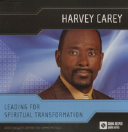 Going Deeper Audio Series: Leading for Spiritual Transformation, Audio CD  -              By: Harvey Carey