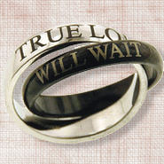 Love Will Wait Ring, Size 9  -
