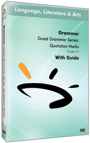 Great Grammar Series: Quotation Marks DVD & Guide  -