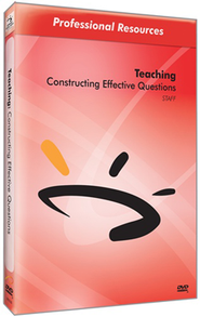 Constructing Effective Questions DVD & Guide  -