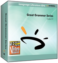 Great Grammar Video Quiz Series DVDs & Guide  -