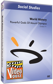 Powerful Gods Of Mount Olympus DVD  -
