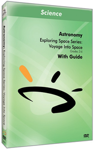 Exploring Space Series: Voyage Into Space DVD & Guide  -