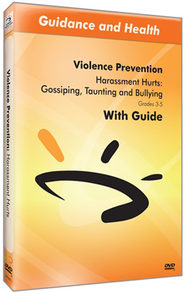 Harassment Hurts: Gossiping, Taunting, and Bullying DVD & Guide  -