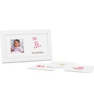 First Year Baby Girl Frame  -
