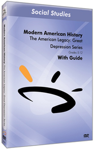 The American Legacy: Great Depression Series DVD & Guide  -