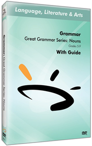 Great Grammar Series: Nouns DVD & Guide  -