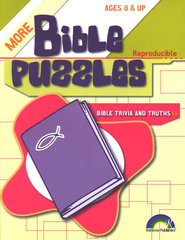 More Bible Puzzles: Bible Trivia & Truths   -