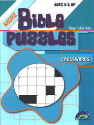More Bible Puzzles: Crosswords   -