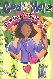 God And Me 2: Fun Devotions for Girls Ages 10 to 12   -     By: Linda M. Washington, Jeanette Dall     Illustrated By: Phyllis Harris
