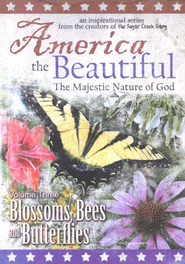 America the Beautiful, Vol. 3: Blossoms, Bees and Butterflies,  DVD  -
