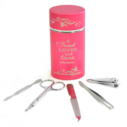 Personalized/Rose Manicure Set   -