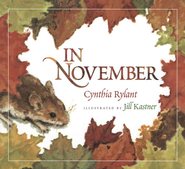In November   -     By: Cynthia Rylant