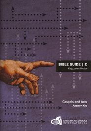 Bible Guide C Answer Key (KJV)  -     By: Jessie Mae Bruinooge, Martha Bruinooge