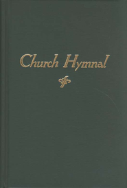 Church Hymnal, hardcover, green   -