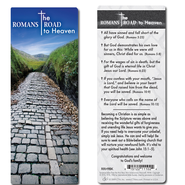 Romans Road to Heaven Bookmark, NIV  -