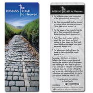 Romans Road to Heaven Bookmark, KJV  -