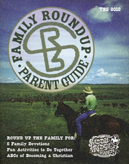 Family Roundup Parent Guide - pack of 10  -