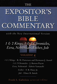 The Expositor's Bible Commetary, 1 & 2 Kings-Job, Volume 4, Dust Jacket  -     By: Frank E. Gaebelein