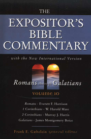 The Expositor's Bible Commentary, Romans-Galatians, Volume 10, Dust Jacket  -     By: Frank E. Gaebelein