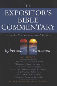 The Expositor's Bible Commentary, Ephesians - Philemon, Volume 11, Dust Jacket  -     By: Frank E. Gaebelein