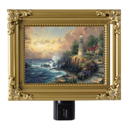 The Light of Peace, Nightlight   -              By: Thomas Kinkade