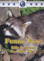 Furry Fun: Life Lessons for Kids Part 3 DVD  -