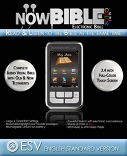 NowBible Mini Color, ESV--Audio/Video Bible Reader (4GB)  -     Narrated By: David Heath     By: Narrated by David Heath