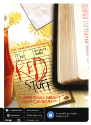 The Red Stuff: Exploring the Words of Jesus, A 5 week Small-Group Video Curriculum  -     By: Scott Rubin
