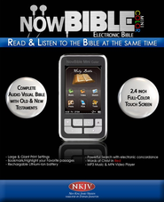 NowBible Mini Color, NKJV--Audio/Video Bible Reader (4GB)  -              Narrated By: Stephen Johnston                   By: Narrated by Stephen Johnston