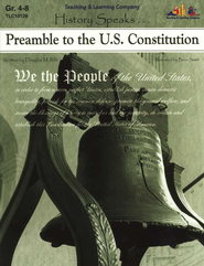 History Speaks...Preamble To The U.S. Constitution   -     By: Douglas Rife