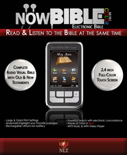 NowBible Mini Color, NLT--Audio/Video Bible Reader (4GB)  -              Narrated By: Todd Busteed                   By: Narrated by Todd Busteed