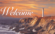 You Are Always Welcome (1 Thessalonians 3:10, KJV)/Postcards, 25  -